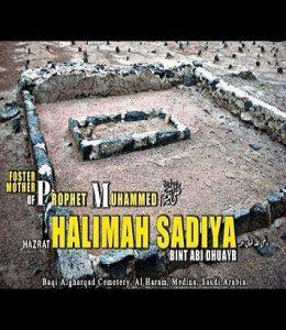 SAYYIDA HALIMA SA'DIYYA (MAY ALLAH BE PLEASED WITH HER)