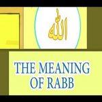 Word Rab Means